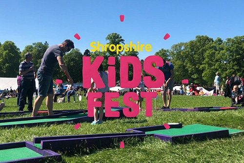 Shropshire Kids Festival Event Shrewsbury