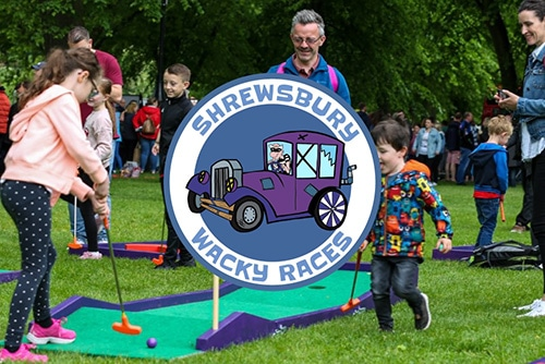 Shrewsbury Wacky Races Event