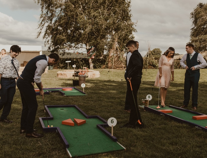 Wedding Crazy Golf
