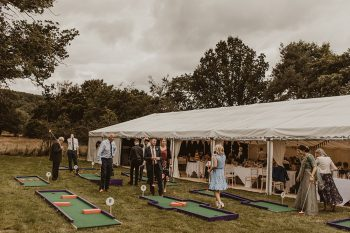 Wedding Portable Crazy Golf