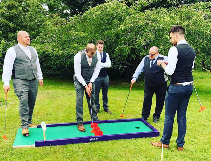 Wedding Entertainment with a difference