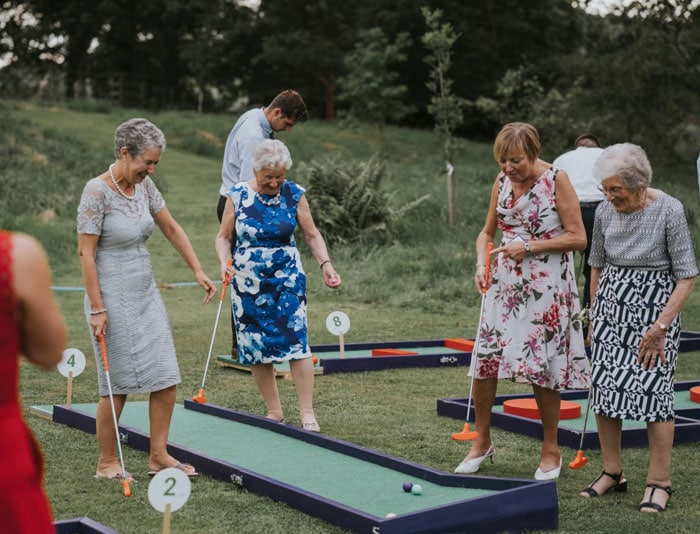 UK Wedding Crazy Golf