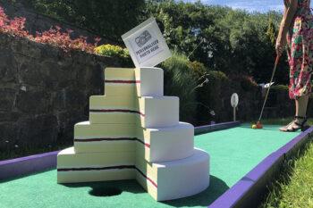Crazy Golf Cake